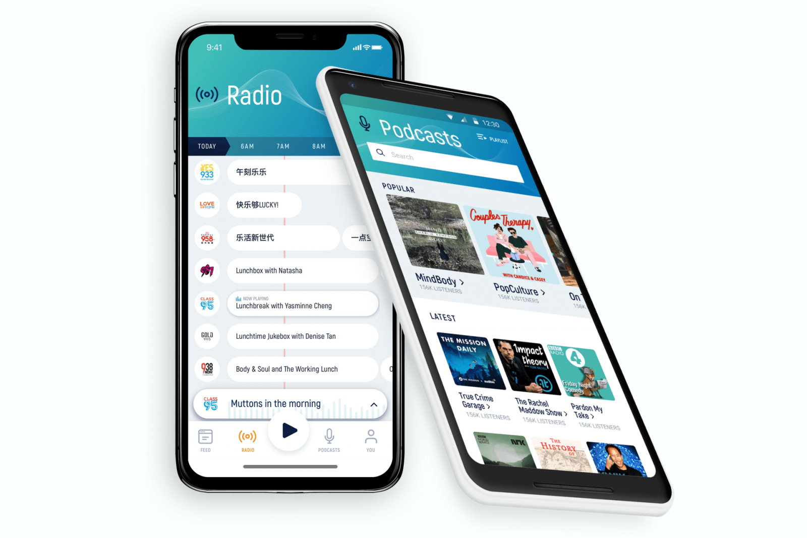 MeRadio app iphone